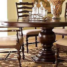 Might Be Too Big For The Kitchen, But I Love Round Pedestal Tables. |  Furniture | Pinterest | Round Pedestal Tables, Tables And Pedestal Dining  Table