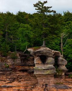Pictured Rocks National Shoreline, Munising, Michigan