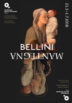 Galleria Medievale: Bellini / Mantegna Capolavori a confronto Graphic Design Fonts, Graphic Design Inspiration, Persona Feliz, Art Exhibition Posters, Museum Poster, Shadow Art, Poster S, Identity Art, Expositions
