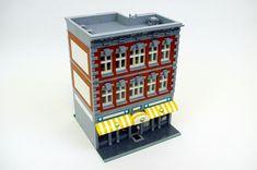 My 20th custom modular LEGO building, a supermarket