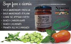 Sugo cicoria e fave... #neronitradizioneitaliana #madeinitaly #ciboitaliano #trasformazione #creme #patè #sughi #vegan