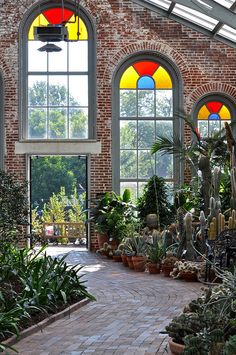 Linnean Hall - Missouri Botanical Garden, St. Louis, MIssouri