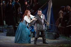 Joyce DiDonato as Elena and Lawrence Brownlee as Giacomo V in Rossini's 'La Donna del...
