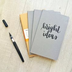 Journal Covers • Handlettered by Laura Fraser