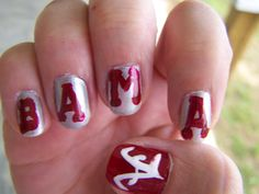 My Bama Nails 2