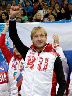 Figure Skating - Winter Olympics Day -1-Yevgeny Plushenko