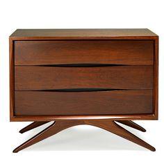 Fantastic Furniture - Mid-Century Modern Design - Vladimir Kagan Three-Drawer Dresser