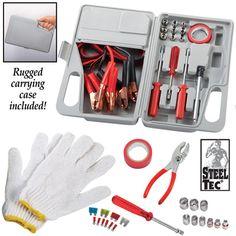 Roadside Emergency Tool Kit Set- 30pc