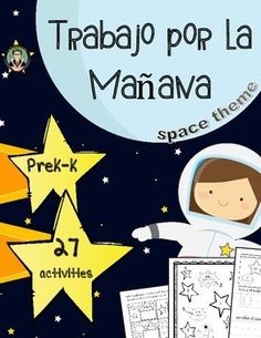 50% off for the first 48 hours!!These morning work practice sheets in a space theme are perfect for PreK and K students to help reinforce numbers! Students practice recognizing, tracing and writing numbers 0-10 in a variety of ways:Pages 3 - 13Students write their name, trace the number word and identify the number word.Pages 14 - 24Students write their name, identify the numeral, trace the numeral, write the numeral and color the numeral.Pages 25 - 304 cut and paste number recognition…