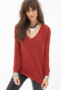 Classic Slub Knit Sweater | FOREVER21 - 2000091753