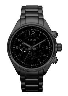 Fossil Flight Stainless Steel Watch - Black CH2803 - http://www.styledetails.com/fossil-flight-stainless-steel-watch-black-ch2803 - http://ecx.images-amazon.com/images/I/41QY17LzQhL.jpg