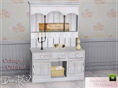 ShinoKCR's Kitchen Loft - Cabinet half | The Sims 3 CC cabinets ...