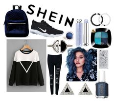 """""""Shein"""" by meinersk45195 ❤ liked on Polyvore featuring Bony Levy, NIKE, WithChic, Jennifer Meyer Jewelry, Essie, L'Oréal Paris, Christian Dior, Lokai, IMoshion and crazyforfashion"""