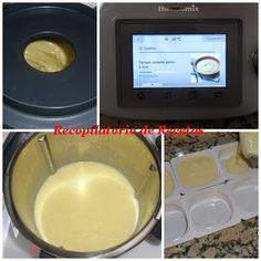 Recopilatorio de recetas thermomix: Natillas en thermomix Thermomix Desserts, Dog Bowls, Corn Starch, Eggs
