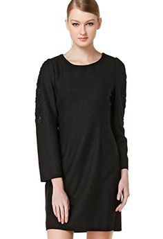 1c2bccc36631 FOURTYSEVEN Women s Straight Pure Dress XXX-Large Black