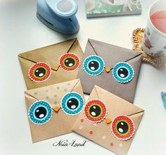 Ideas para empaquetar: Imprimible búhos