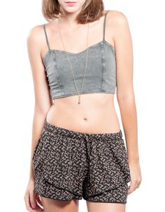 Top tiras espalda con fade out Double Agent 12,99€ www.doubleagent.es #fashion #trends #clothes