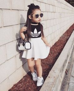Pin by everything dolan on *fashion* baby girl fashion, cute outfits for ki Cute Little Girls Outfits, Kids Outfits Girls, Toddler Outfits, Baby Outfits, Clothes For Kids Girls, Little Girl Swag, Cute Kids Fashion, Little Girl Fashion, Toddler Fashion
