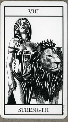 Bianco Nero Tarot: Major Arcana on Behance Leo Tarot, Strength Tarot, Tarot Card Tattoo, Jobs In Art, Tarot Major Arcana, Card Drawing, Tarot Readers, Oracle Cards, Tarot Decks