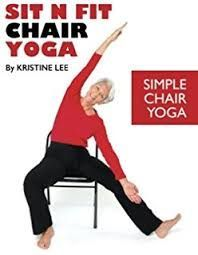 Image result for yoga using a chair #ChairWorkout