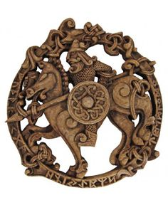 Odin, Norse All-Father God Plaque
