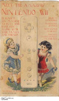 Wii vintage add