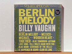 Amazon.com: Buying Choices: Billy Vaughn, Berlin Melody (Pre-Recorded Reel To Reel Audio Tape)