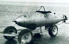 Torpille kamikaze japonaise retrouvé à Saipan en 1946.