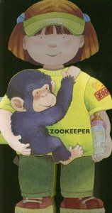 Book, Zookeeper (Little People Shape Books) by Giovanni Caviezel