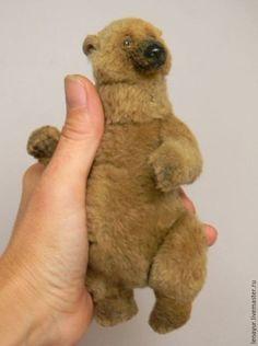 Купить Berta, 15см - авторская ручная работа, авторские мишки Тедди, авторский…