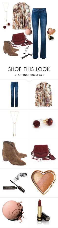 """Country II"" by arlecia1988 ❤ liked on Polyvore featuring 7 For All Mankind, Christopher Kane, Ettika, Ash, Rebecca Minkoff, Bobbi Brown Cosmetics, Too Faced Cosmetics, Chanel, Gucci and country"