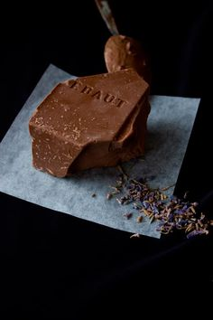 chocolate and lavender  http://www.christelleisflabbergasting.com/