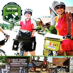 Your park your bike your adventure! #BikeYourPark on September 24. #FindYourPark #AdventureCycling by adventurecycling