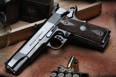 1911 Wilson combat ultimate tactical supergrade Loading that magazine is a pain! Get your Magazine speedloader today! http://www.amazon.com/shops/raeind