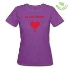 T-Shirt aus ökologischer Herstellung, für Frauen, 100% Baumwolle, Marke: Continental.   Das Axel®Shirt für die Ladies Axilla. Ein schlank geschnittenes T-Shirt, Organic und in Beere mit rotem Aufdruck. Einfach Axel®.