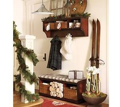 Samantha Entryway Collection #potterybarn. I think it is meant to be. But is it the right piece for our space?