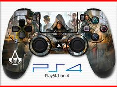 Assassin's Creed Skin PS4 Controller Skin Wrap Sticker Playstation 4 Skin Syndicate Skin Rogue Skin