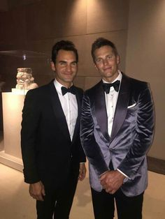 When two sports legends meet. Roger Federer and Tom Brady: the GOATs