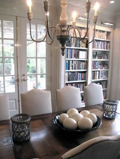 library dining room