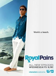 Created by Andrew Lenchewski, John P. Rogers.  With Mark Feuerstein, Paulo Costanzo, Reshma Shetty, Brooke D'Orsay. An unfairly discredited but brilliant diagnostic surgeon winds up working with his cheesy brother in the Hamptons as a concierge doctor to the uber-rich and ultra-elite.