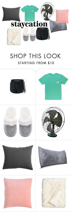 """""""STAYcation, if its hot"""" by folieapanic on Polyvore featuring NIKE, Victoria's Secret, Room Essentials and Nordstrom"""