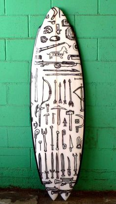 contraband / Chris Cote / Univ Surfboard Project