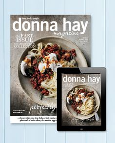 donna hay magazine Fast issue #82 Aug/Sep 2015