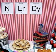 nerd party ideas - Google Search