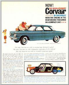 1960 advertisements chevrolet | Corvair Advertisements 1960-69 by Chevrolet for the Aficionado