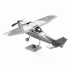 3D Puzzle Metal DIY F15 Fighter Military Wars Airplane Aircraft Mass Effect Model Gift Toys Mini Jigsaws Metal Earth Present