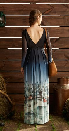 Só na Antix Store você encontra Vestido Longo Passeio no Campo com exclusividade na internet
