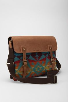 Messenger Bag - Pendelton.  Please and thank you, okay? Okay.