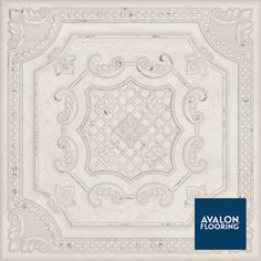 Spanish Inspired Tile - Gatsby 8x8 Porcelain Tile features tin-pressed metal facade | Available at Avalon Flooring | #tile #spanishinspired #3dtile #uniquetile