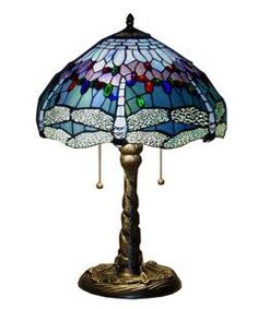 @Overstock.com - Tiffany-style Dragonfly Table Lamp - Handcrafted using the same techniques that were developed by Louis Comfort Tiffany in the early 1900s, this beautiful tiffany style table lamp contains hand-cut pieces of stained glass, each wrapp...  http://www.overstock.com/Home-Garden/Tiffany-style-Dragonfly-Table-Lamp/2169615/product.html?CID=214117 $108.99